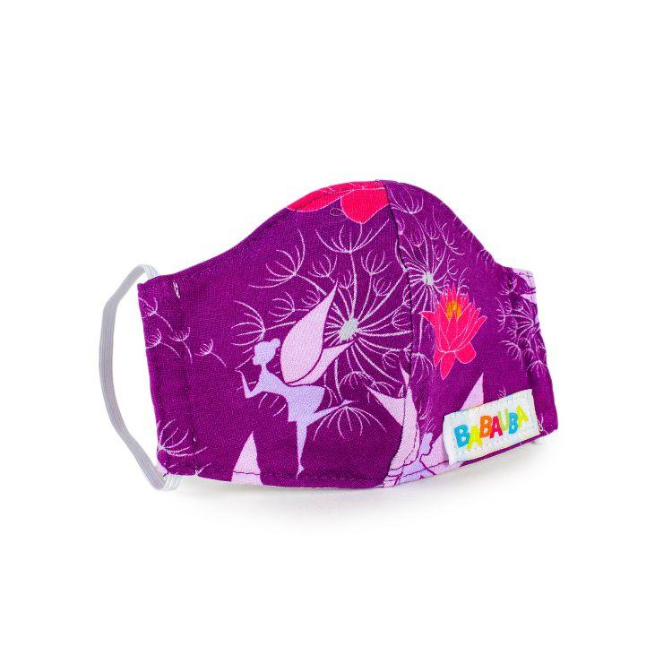 Mund- und Nasenmaske für Kinder mit Gummi - FairyWorld