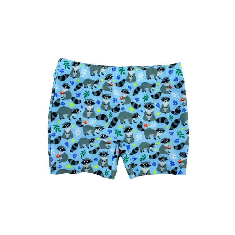 Badehose FunnyRacoons-Blue