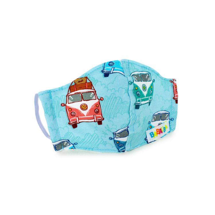 Mund- und Nasenmaske für Kinder mit Gummi - HippiesOnTheRoad