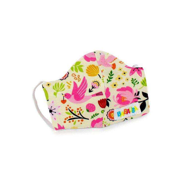 Mund- und Nasenmaske für Kinder mit Gummi - PeaceAndSpring