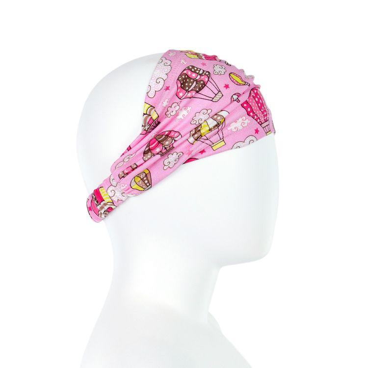 Haarband MontgolfiereBalloons-Pink