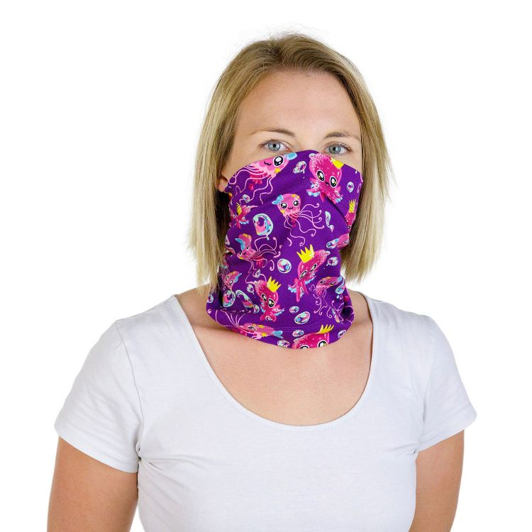 Loop-Maske Small - SweetOctopus-Purple
