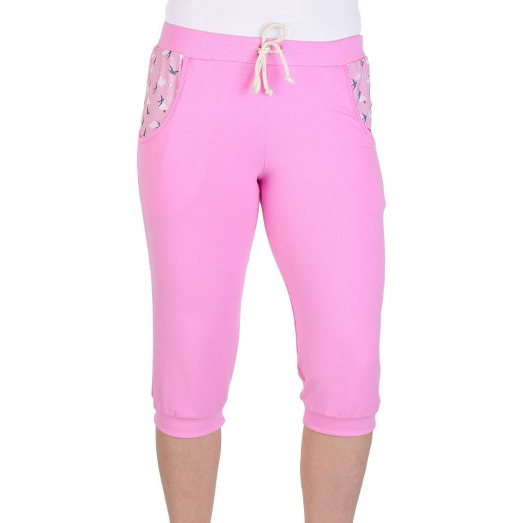 Woman-Caprihose LovelySwallows-Pink