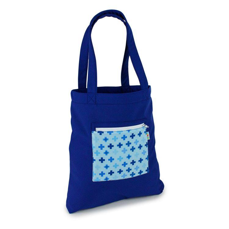 Softshell-Shopper CrossesInBlue