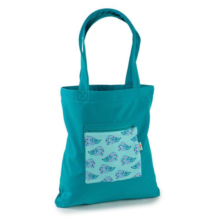 Softshell-Shopper MosaicHedgehogs