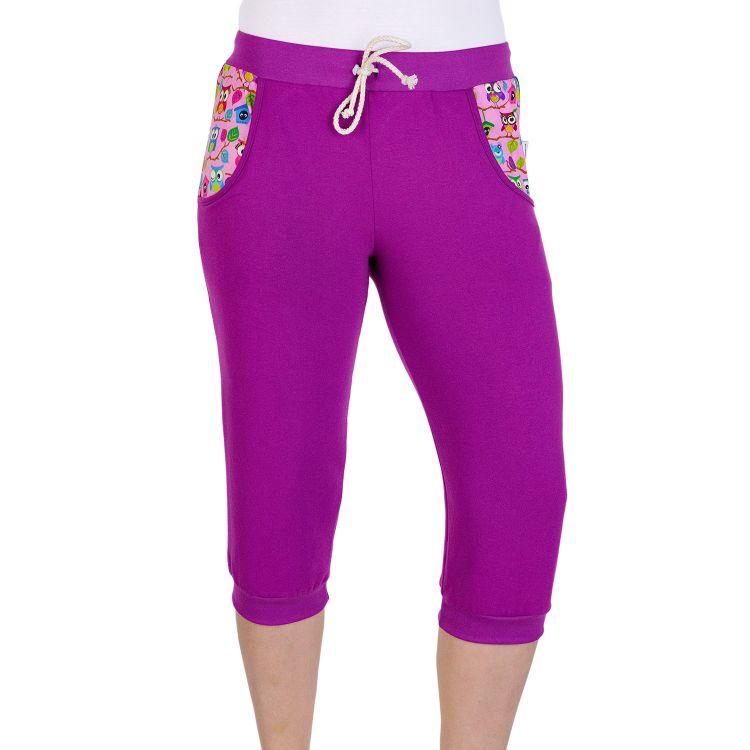 Woman-Caprihose BabaubaHoots-Pink