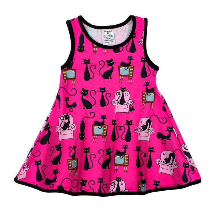 Kids-LittleMissSunshine-Dress - BabaubaBlackCats