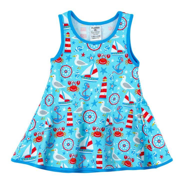 Kids-LittleMissSunshine-Dress - BabaubaMaritimWorld