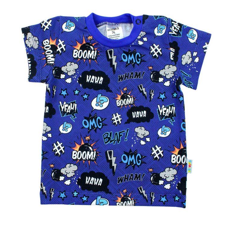 T-Shirt Kaboom-KönigsblauEdition