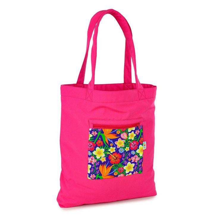 Softshell-Shopper HawaiiFlowers