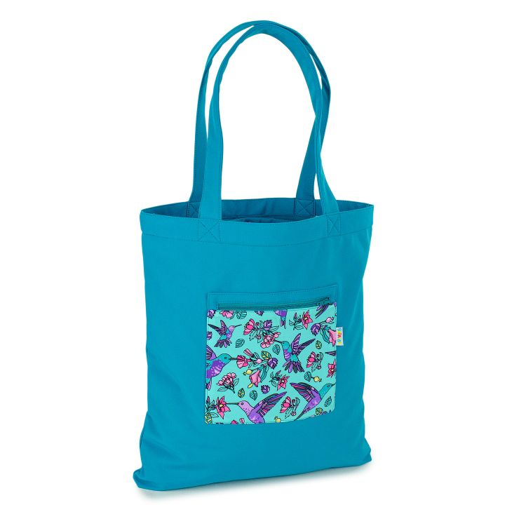 Softshell-Shopper Hummingbirds-Blue