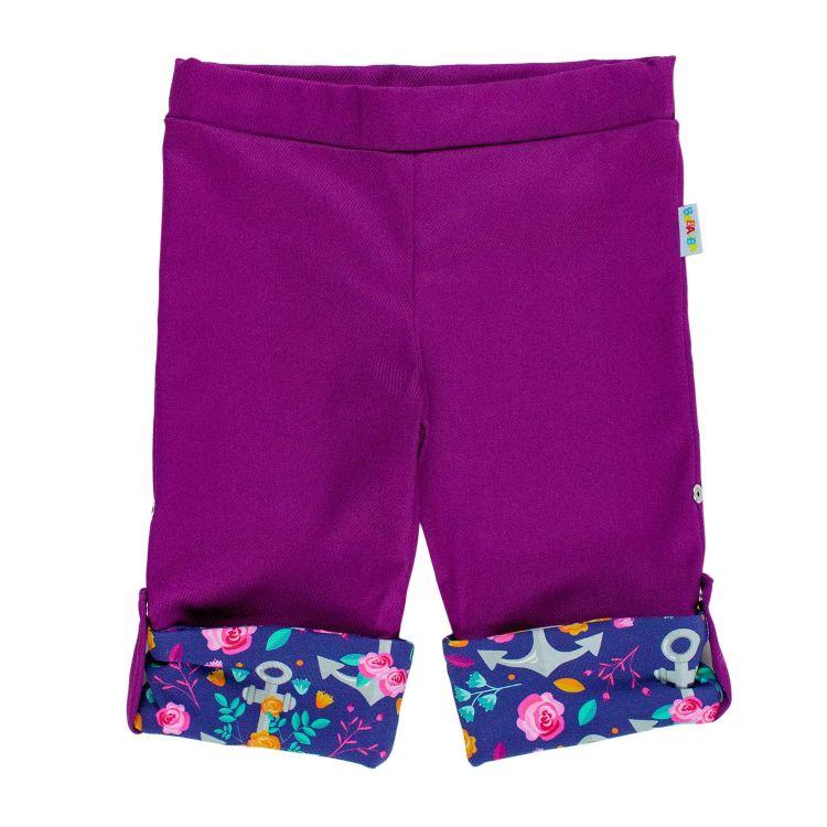 Jeans-Bermuda RosesAndAnchors