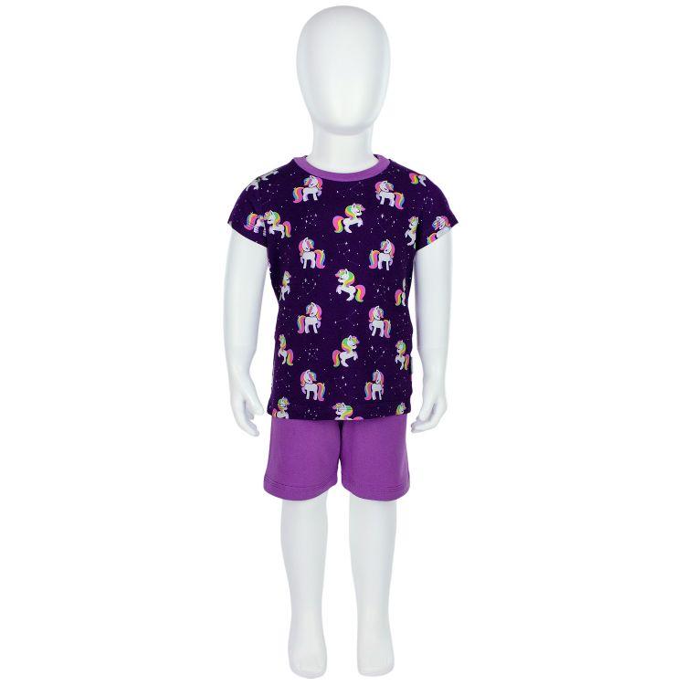 Pyjama-Set-Shortstyle GalaxyUnicorns