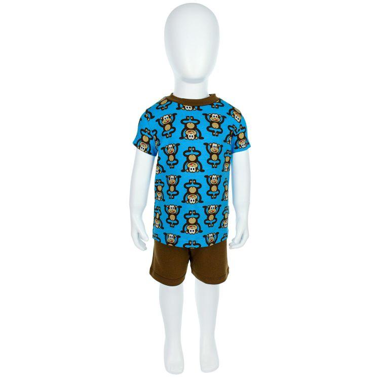 Pyjama-Set-Shortstyle WildBlueMonkey