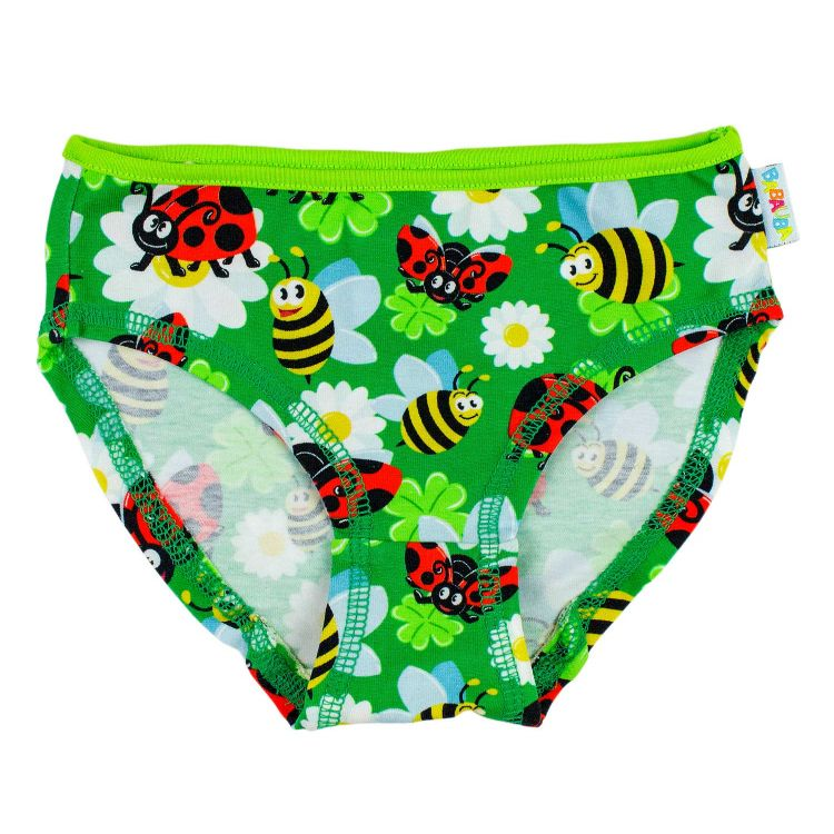 Kids-Underpants - LadybugsAndBees-KiwiEdition