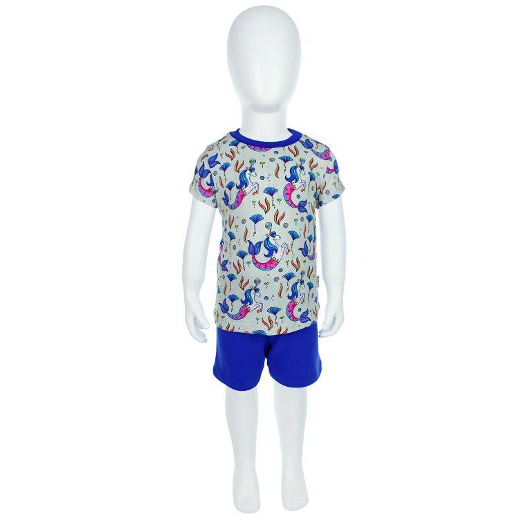 Pyjama-Set-Shortstyle UnderwaterUnicorn