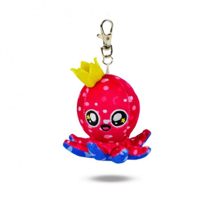 Plüsch-Schlüsselanhänger SweetOctopus-Purple