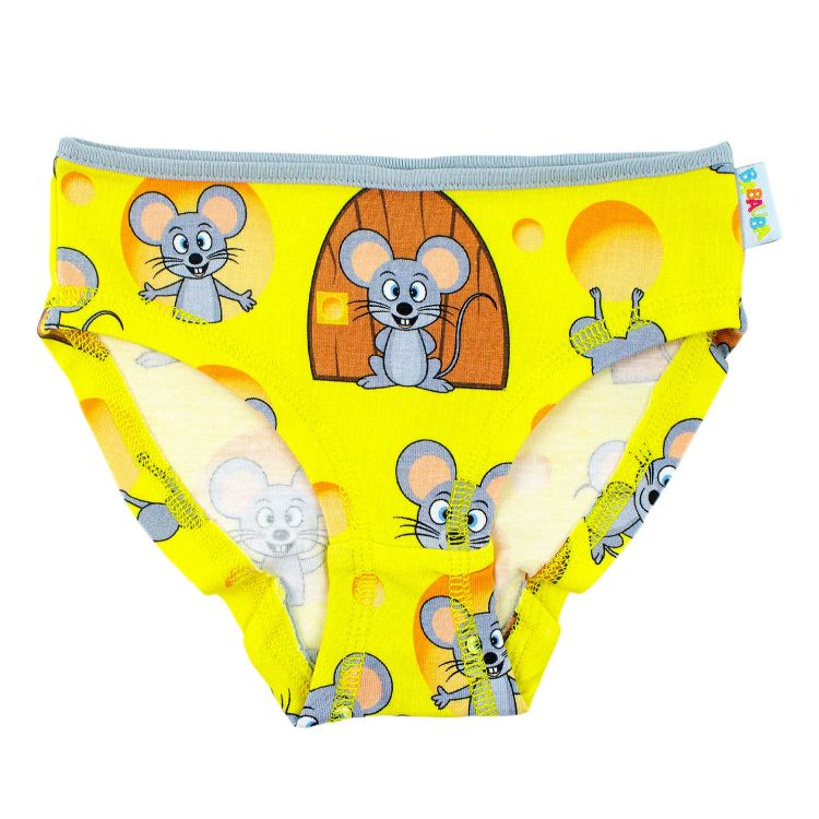 Kids-Underpants - MjamMjamMäuse-GrauEdition
