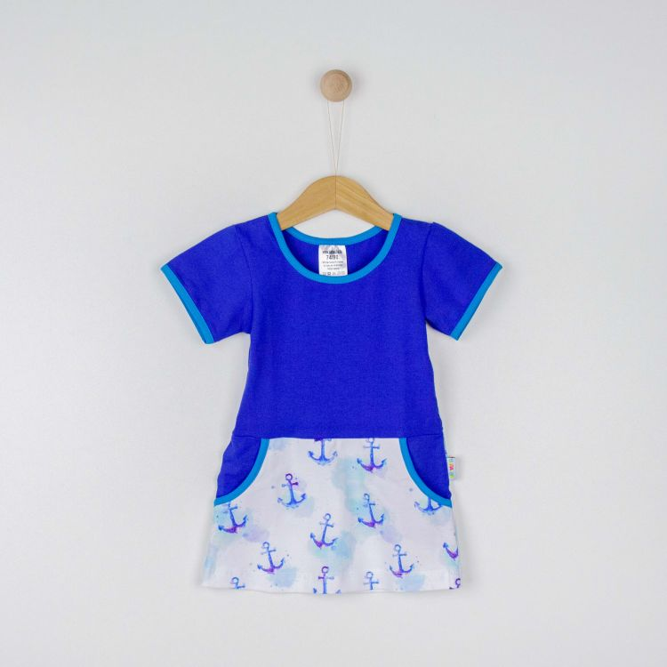 Kids-Kurzarm-PocketDress - DreamyAnchors