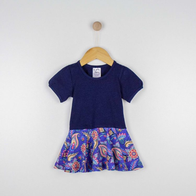 Baby-Kurzarm-Drehkleidchen - RoyalFlowers