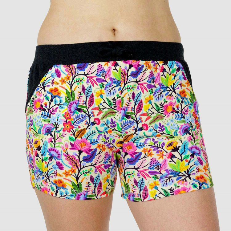 Comfy-WomanShorts ColorfulSpring