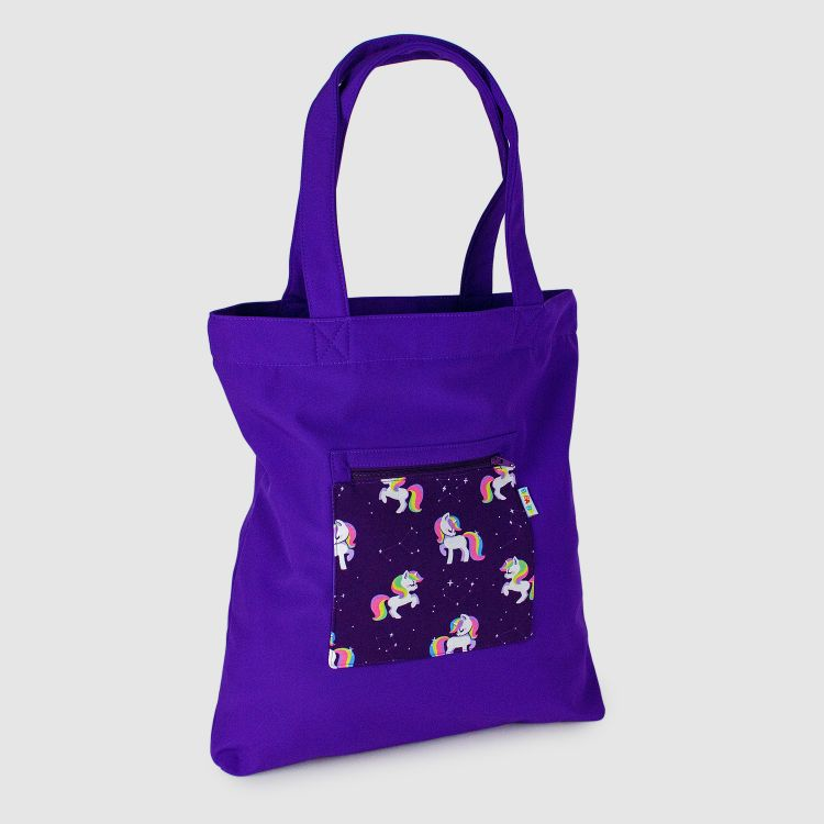 Softshell-Shopper GalaxyUnicorns