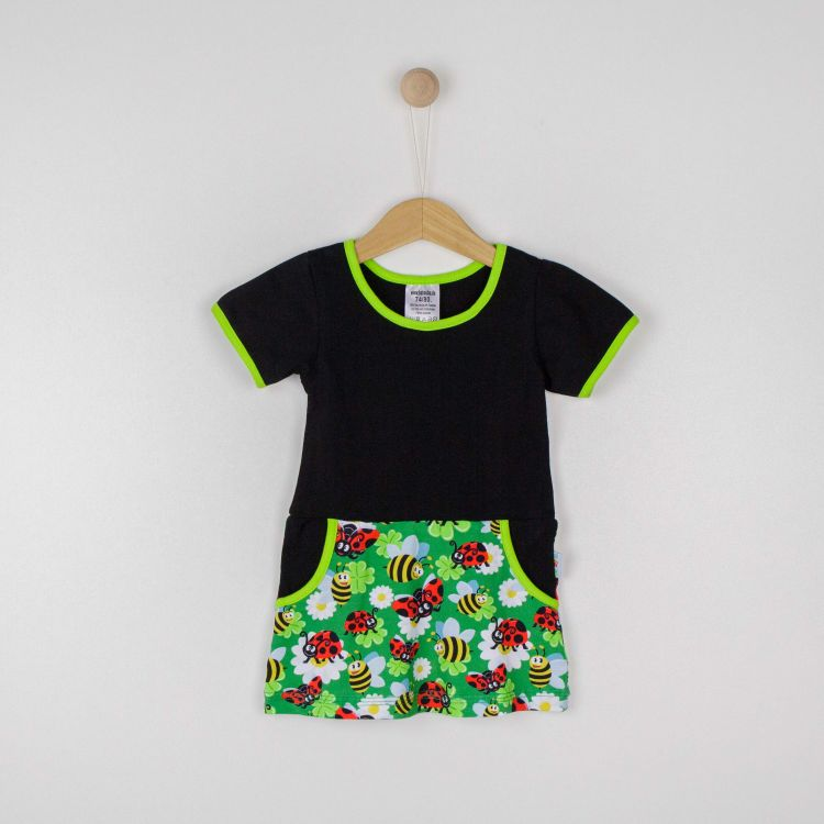Kurzarm-PocketDress LadybugsAndBees