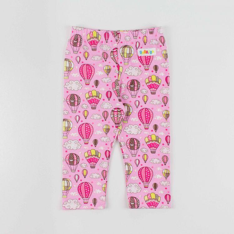 Kids-SkinnyPants - MontgolfiereBalloons-Pink