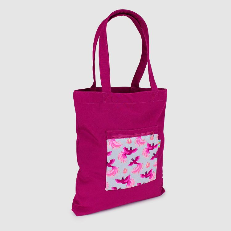 Softshell-Shopper PinkPhoenix