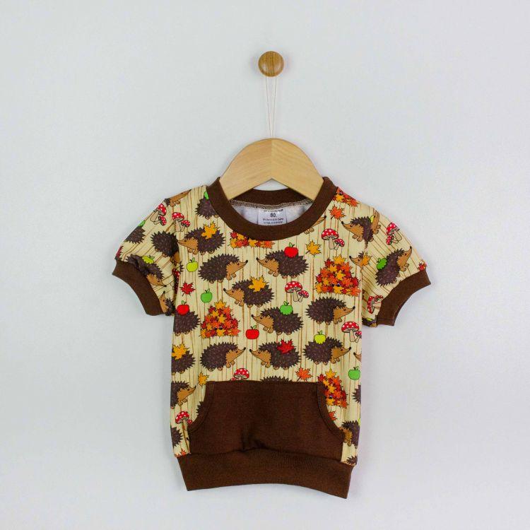 Kids-PocketShirt - BabaubaHedgehogs