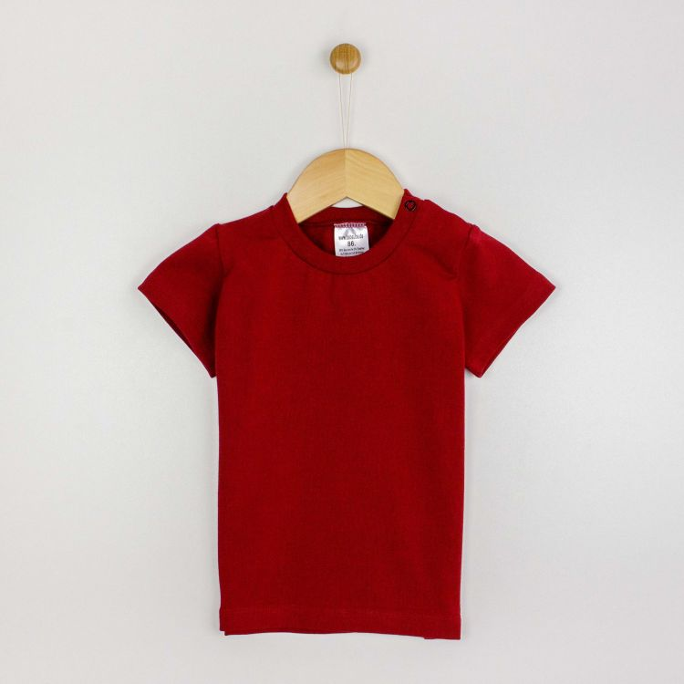 Uni-T-Shirt Weinrot