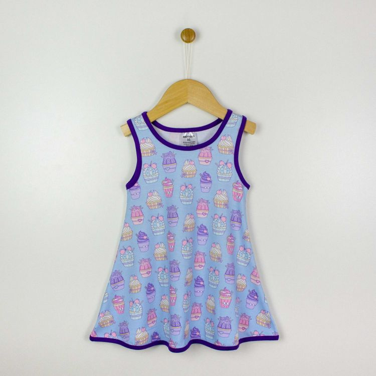 Kids-LittleMissSunshine-Dress - LovelyCupcakes