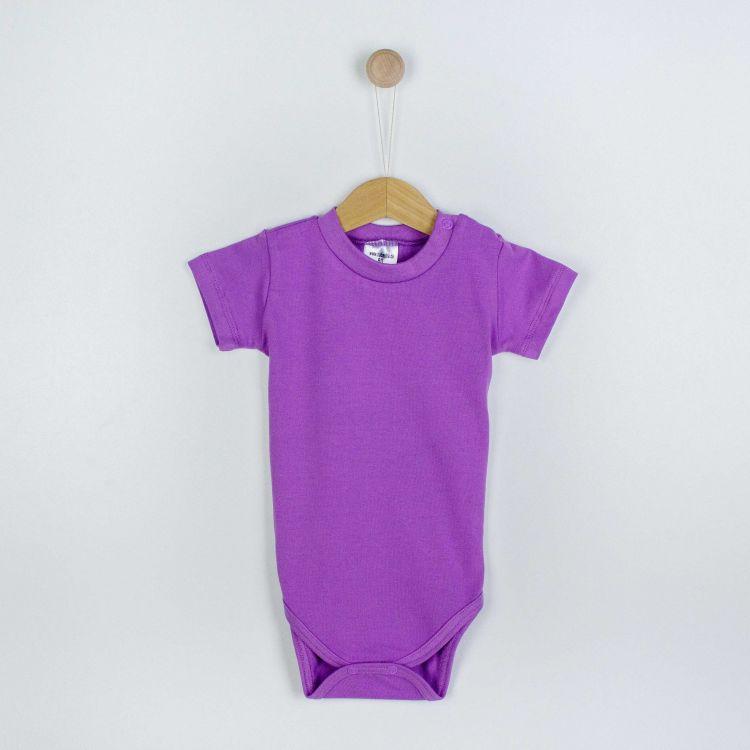 Kids-Uni-Kurzarmbody - Lavendel