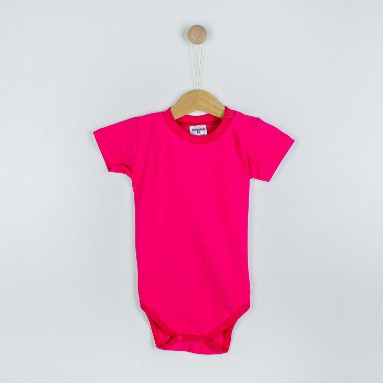 Baby-Uni-Kurzarmbody - Cyklame