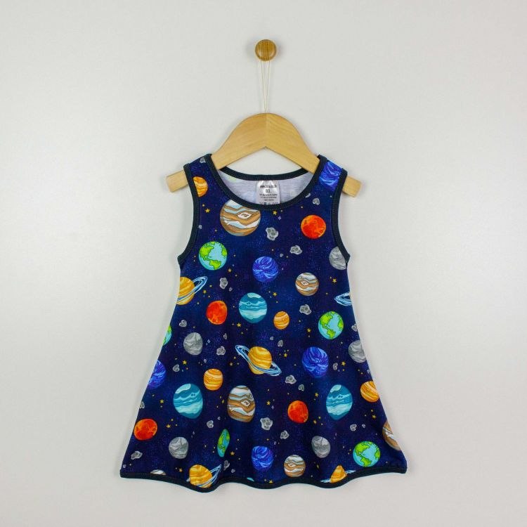 Kids-LittleMissSunshine-Dress - BabaubaPlanets