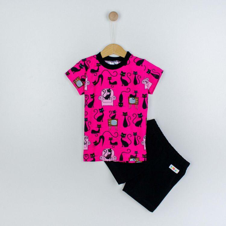 Pyjama-Set-Shortstyle BabaubaBlackCats