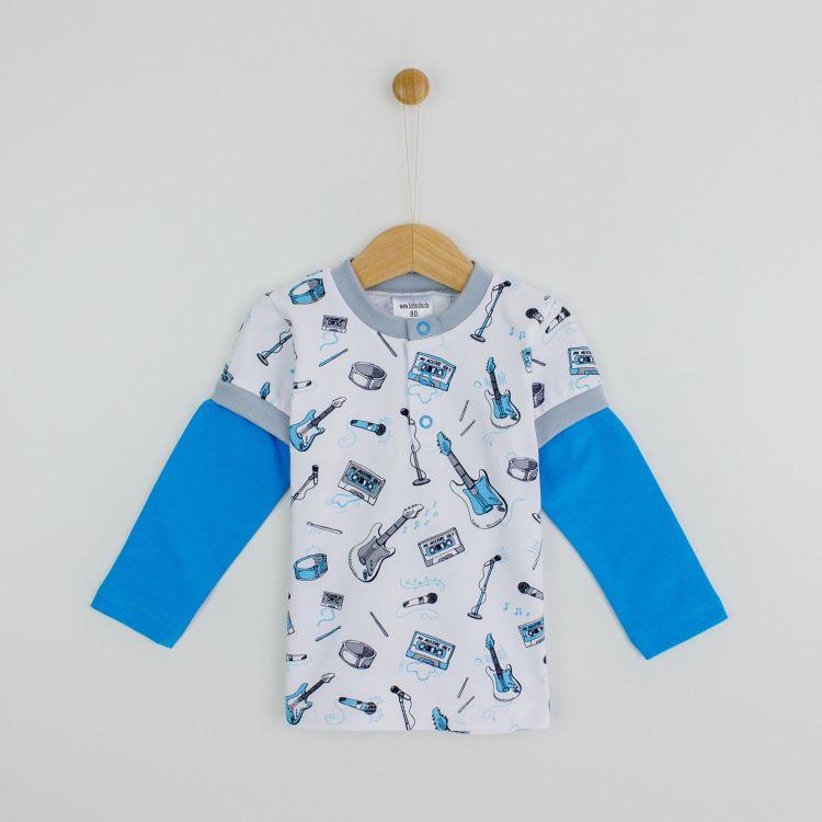 Langarm-T-Shirt Rockstar