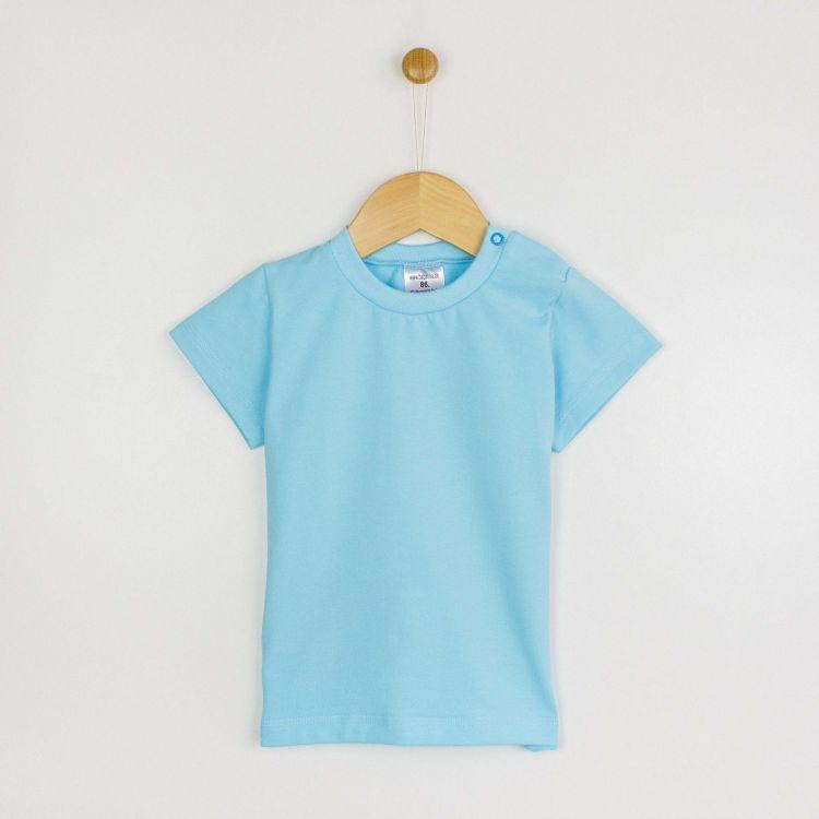 Kids-Uni-T-Shirt - Babyblau