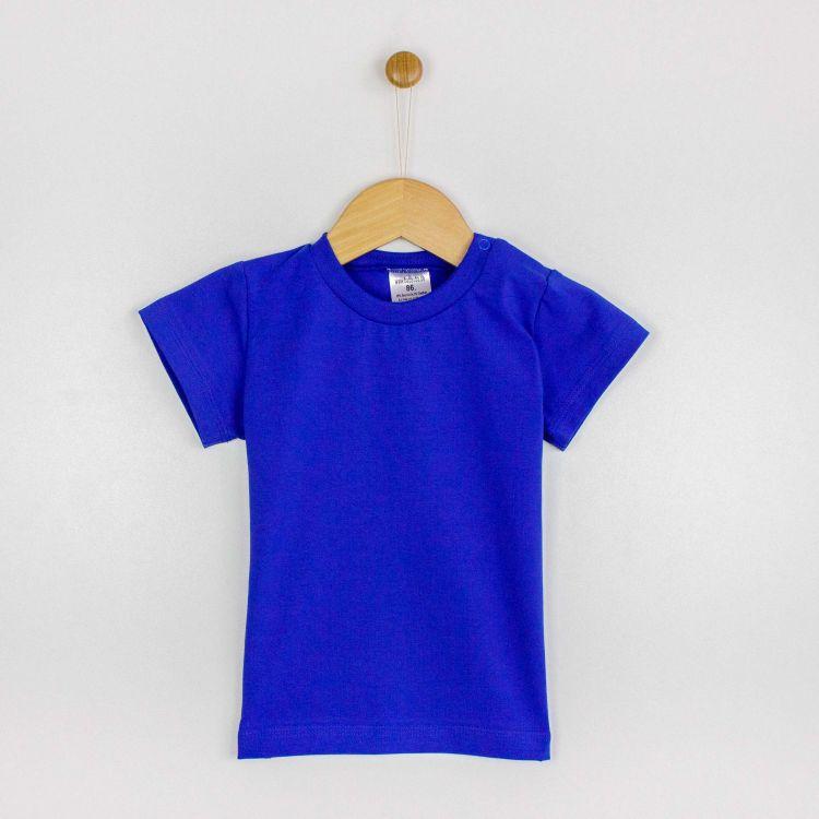 Uni-T-Shirt Königsblau