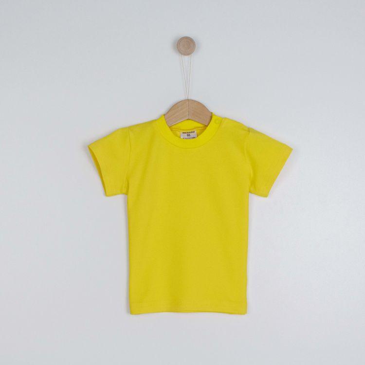 Kids-Uni-T-Shirt - Zitrone