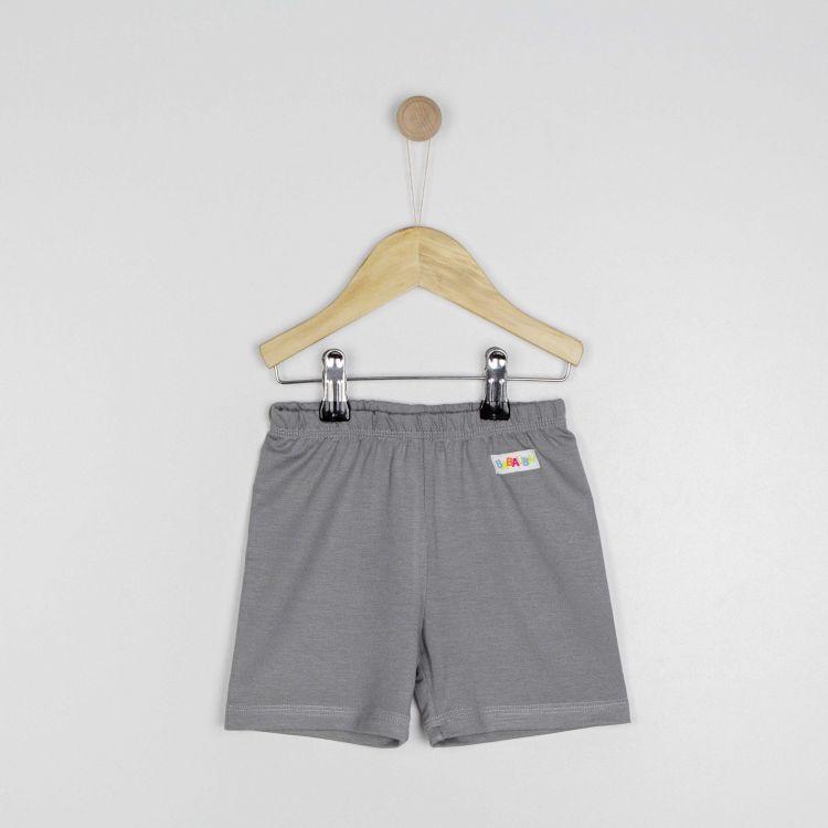Kids-Viskose-Shorts - Grau