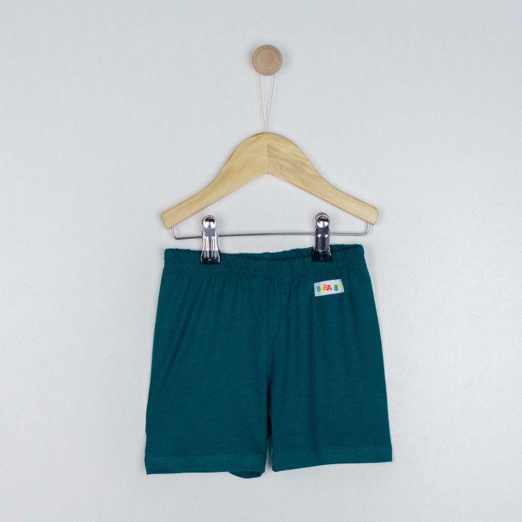 Kids-Viskose-Shorts - Petrol