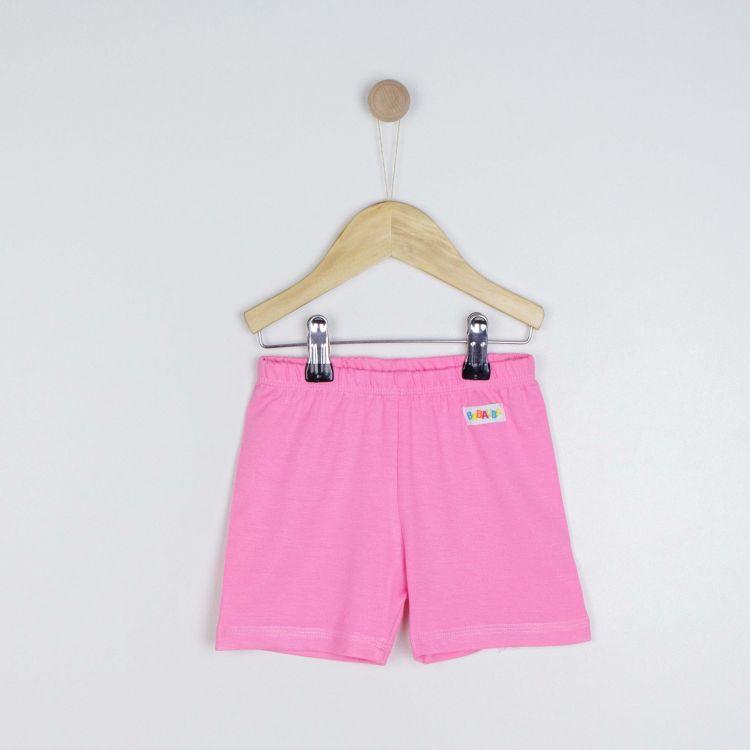 Viskose-Shorts Babyrosa