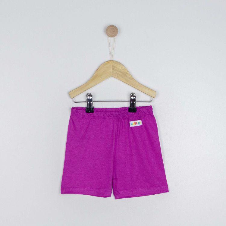 Kids-Viskose-Shorts - Aubergine