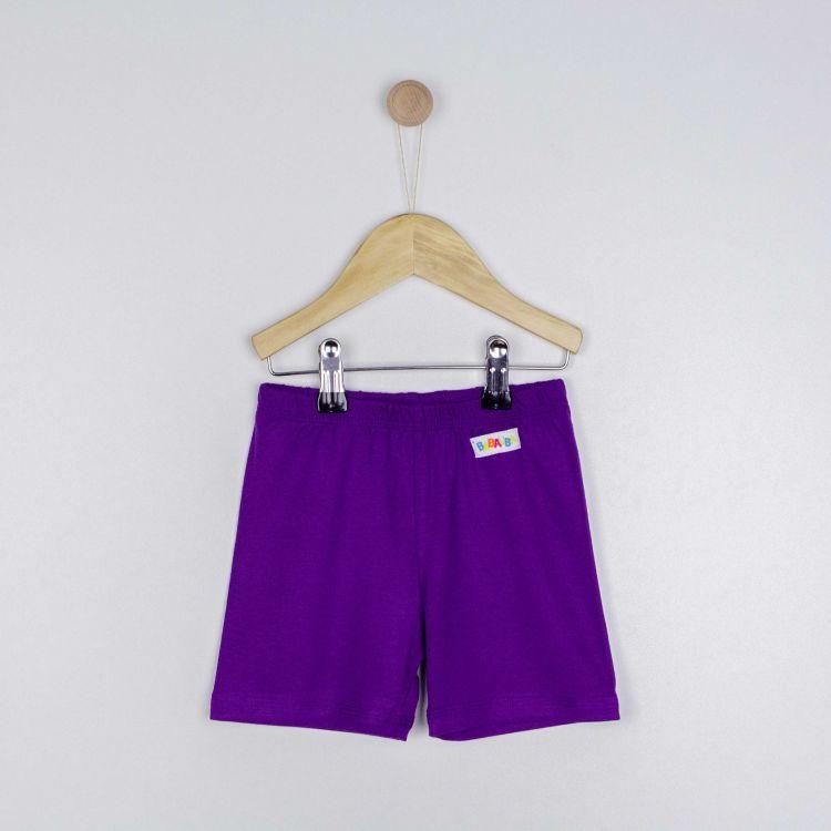 Kids-Viskose-Shorts - Lila
