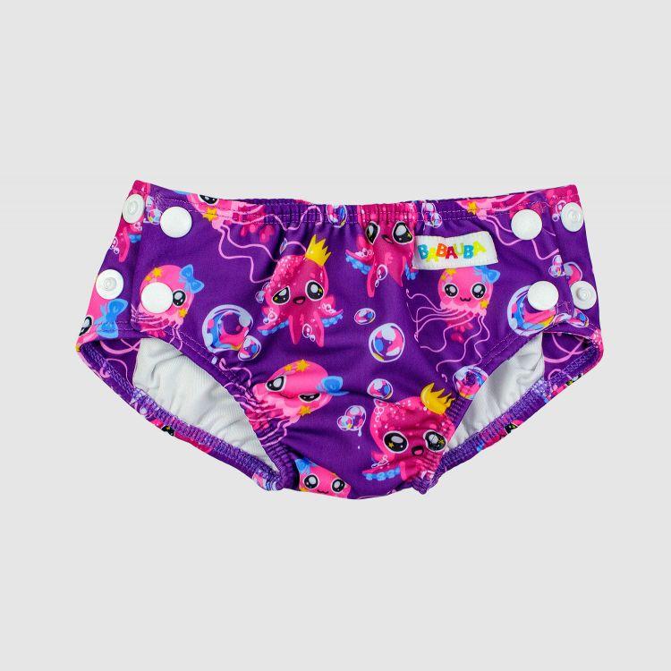 Schwimmwindel SweetOctopus-Purple