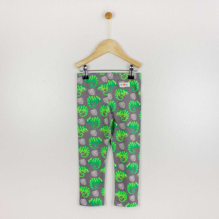 Kids-SkinnyPants - ExoticChameleons-Green