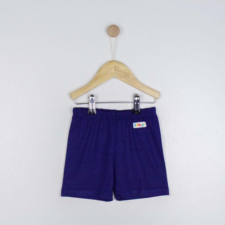 Kids-Viskose-Shorts - Dunkelblau