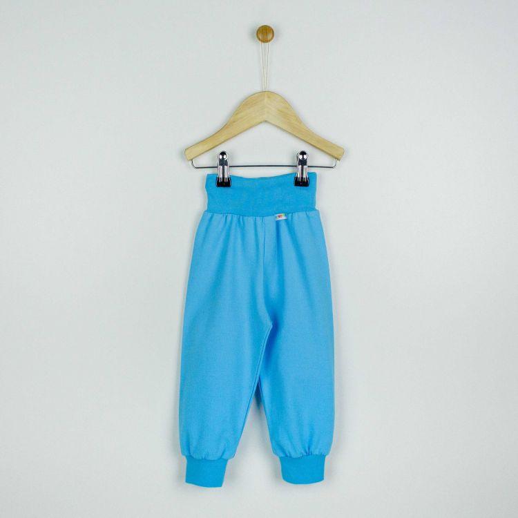 Baby-Uni-Widepants - Azurblau