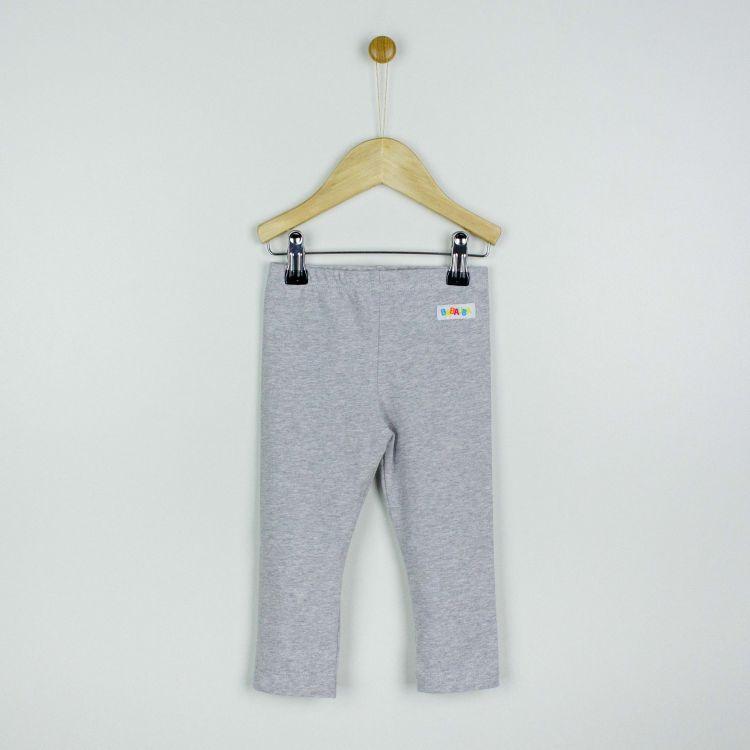 Uni-SkinnyPants Grau-Meliert